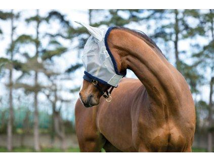 Maska proti hmyzu Amigo Fine Mesh, silver/navy
