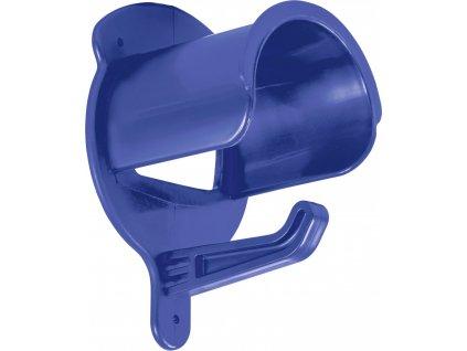 Držák na uzdečky plastový USG, royal blue