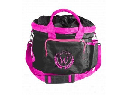Taška na čištění Waldhausen, black/pink