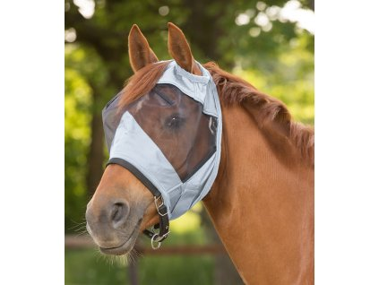 Maska proti hmyzu bez ochrany uší Premium Waldhausen, silver grey