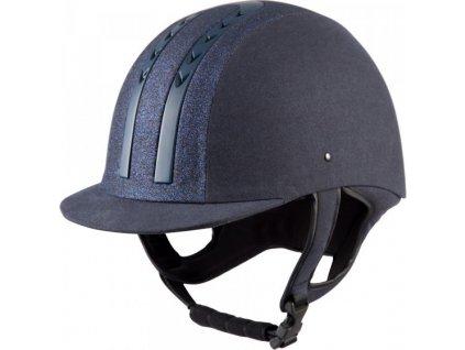 Helma jezdecká E01-MZ PFIFF, dark blue