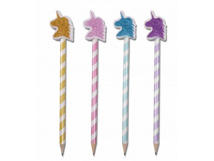Tužka s gumou Unicorn Waldhausen, různé barvy