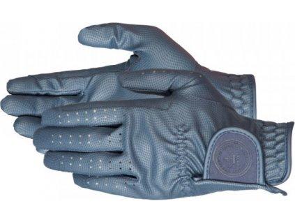 Rukavice jezdecké Rexine PFIFF, tmavě modré