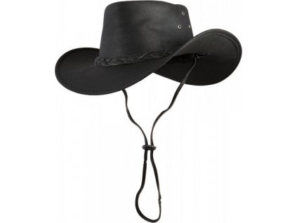 Klobouk kožený Utah PFIFF, black