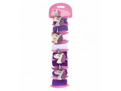 Set gumiček do vlasů Unicorn Waldhausen