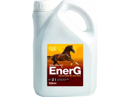 EnerG s železem pro maximální využití energie, 2 l, NAF