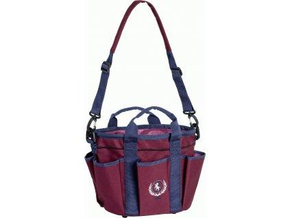 Taška na čištění USG malá, burgundy/blue