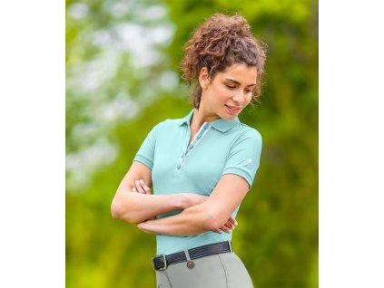 Tričko bavlněné Damaskus ELT, dámské, mint