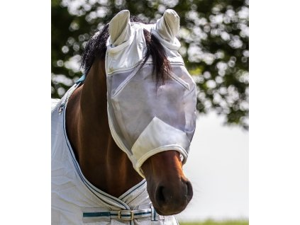 Maska proti hmyzu s ochranou uší Waldhausen, silver grey