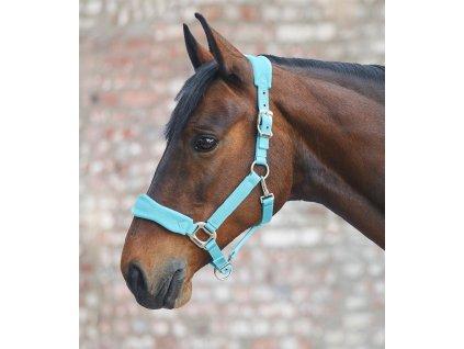 Ohlávka Premium Soft Waldhausen, light blue