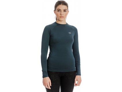 Multifunkční sportovní tričko Horseware, dámské, petrol blue