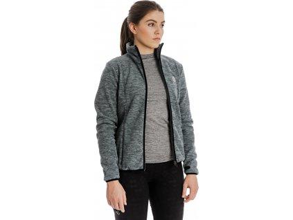 Mikina Lara Horseware, zimní, dámská, stone grey