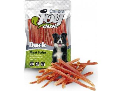 Calibra Joy Dog Classic Duck Strips 80g NEW