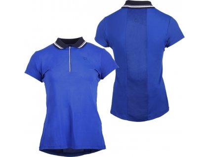 Tričko závodní Lotty QHP, dámské, cobalt blue