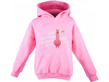 Mikina Lama Love PFIFF, dětská, pink