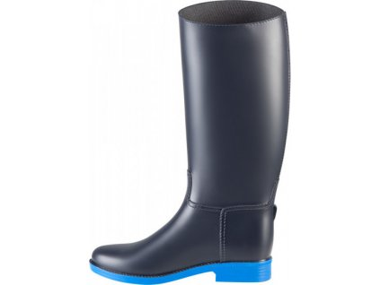 Holínky jezdecké PVC Aberdeen PFIFF, dark blue/light blue