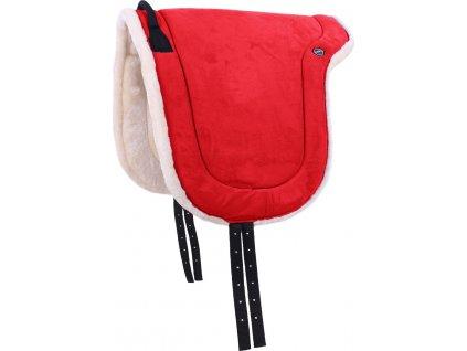 Jezdecký pad QHP, bright red