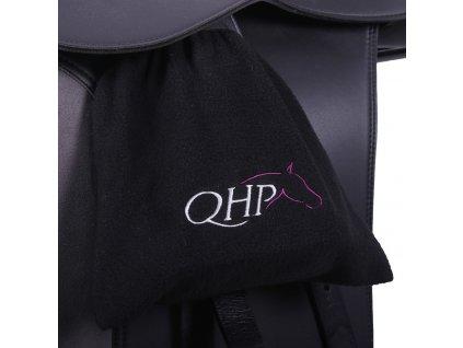 Obal na třmeny Fleece QHP, černý
