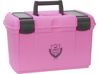 Box na čištění PFIFF, pink/grey