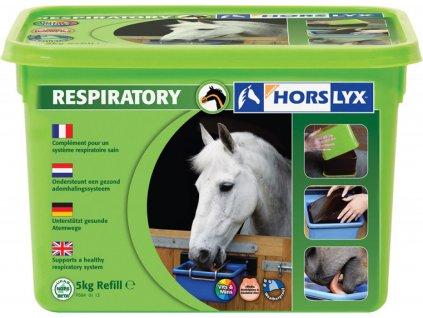 Minerální liz pro koně HORSLYX, respiratory