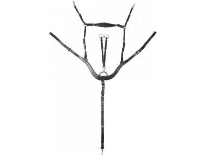 Poprsník anatomický Shaped PFIFF, černý