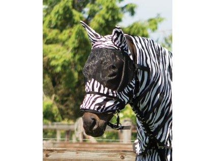 Maska proti hmyzu s ochranou uší QHP, zebra