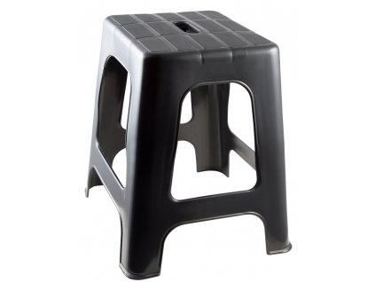 Stolička na nasedání Hocker PFIFF, černá