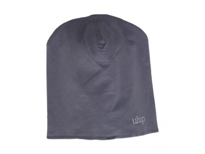 Uhip cotton beanie grey