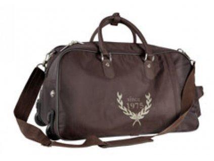 Cestovní taška s kolečkama PFIFF, brown