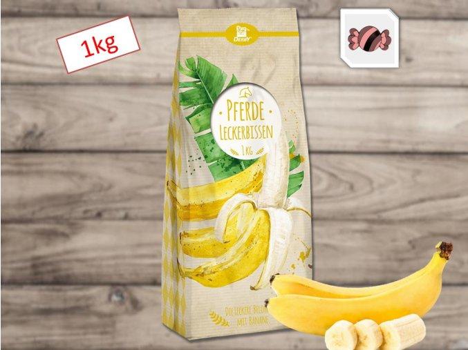 Derby Pamlsky Leckerbissen Banane