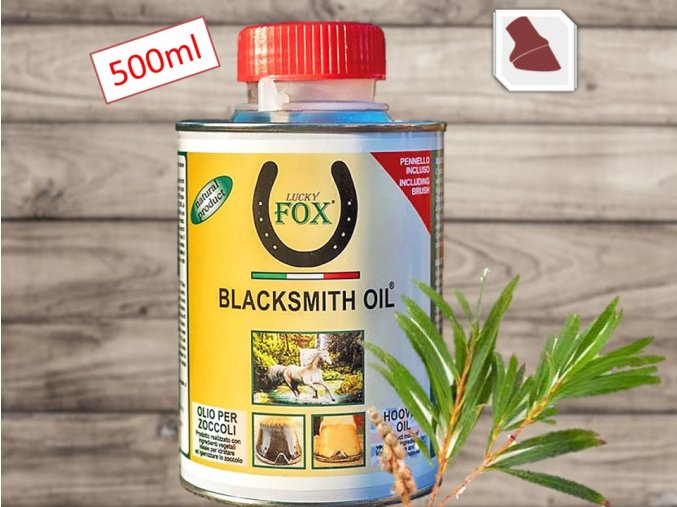 Blacksmith oil