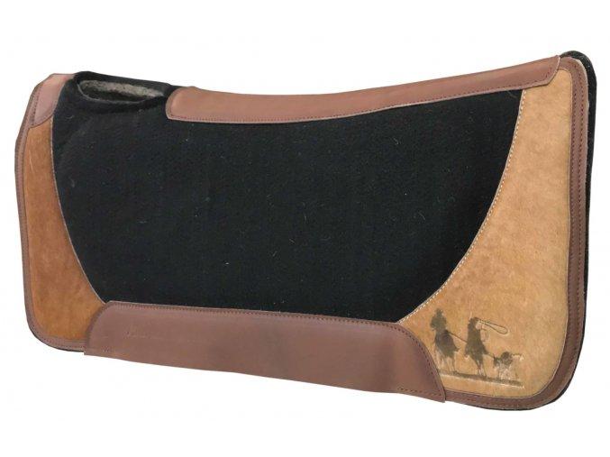 westernová deka roping