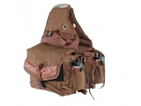 POOL'S PADDED REAR SADDLE BAG 2 POCKETS