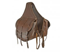 CALF SKIN LUXURY SADDLE BAG