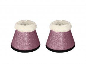 bling zvony sparkle pink