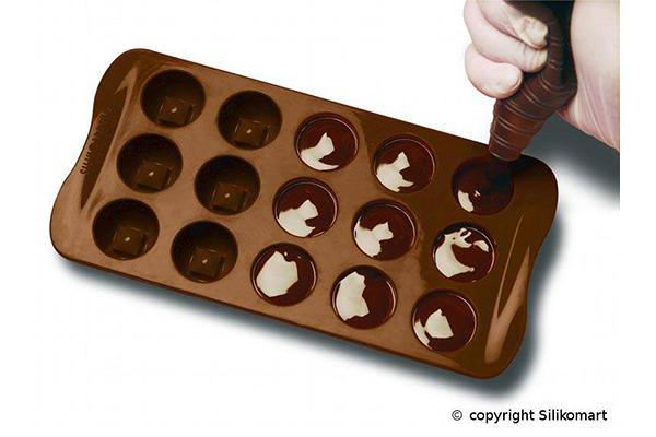 Jak pracovat s formou na čokoládu