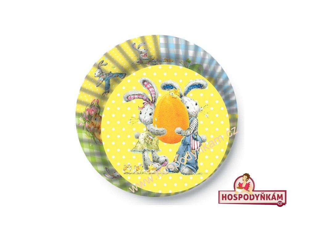 Cukrářské košíčky velikonoční se zajíčky
