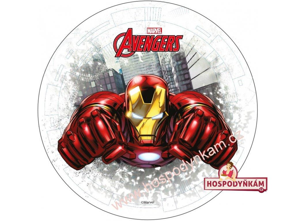Jedlý papír Avengers 1