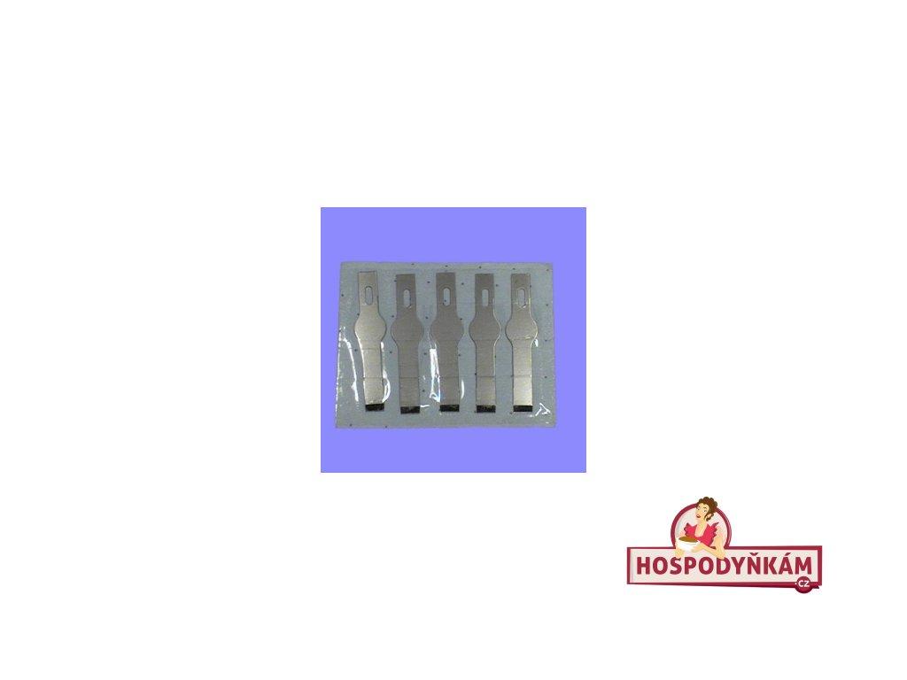 Náhradní planžety k nožíku PME 7 (dlátko)