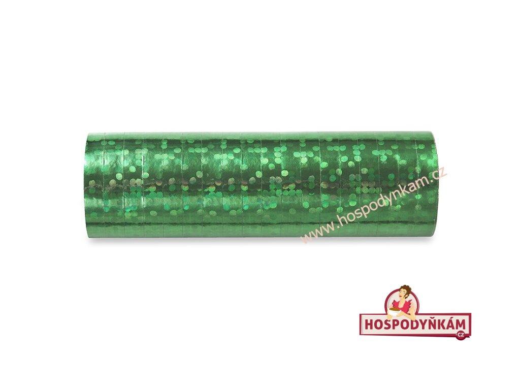 Serpentýna holografická zelená