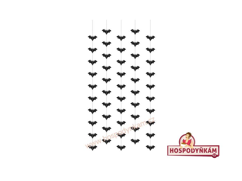 Řetězová dekorace netopýr
