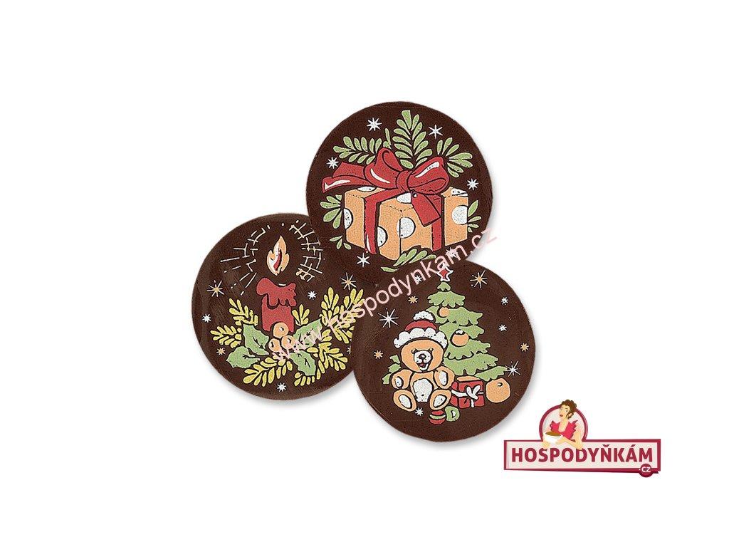 Balení Čokoládová dekorace Vánoce (240ks)
