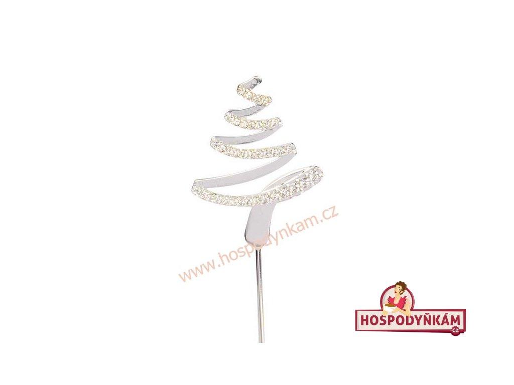 Zapichovací dekorace Vánoční stromek