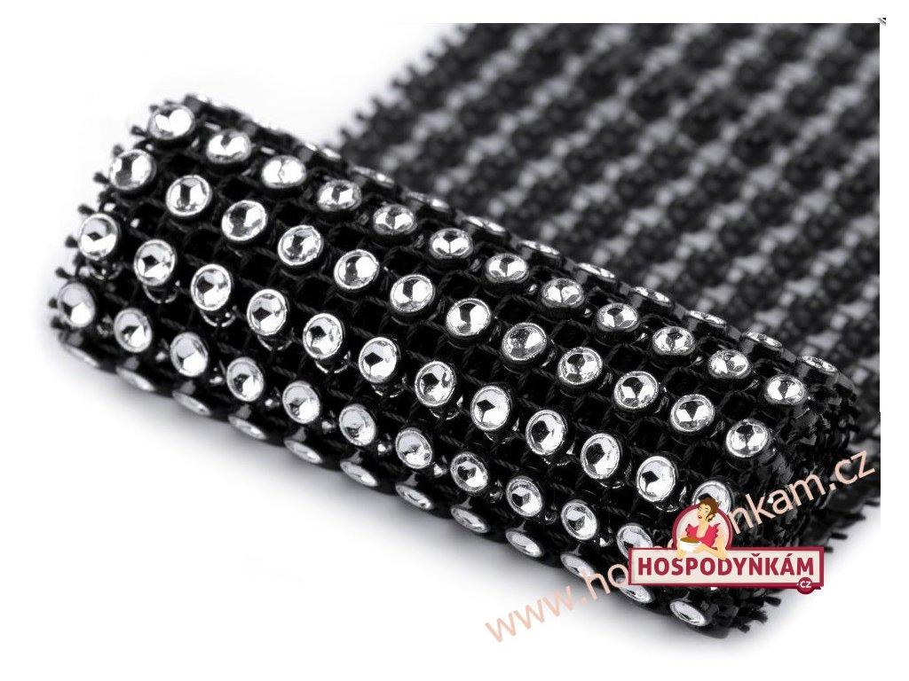 Diamantový pás černý šíře 58mm (3m v balení)