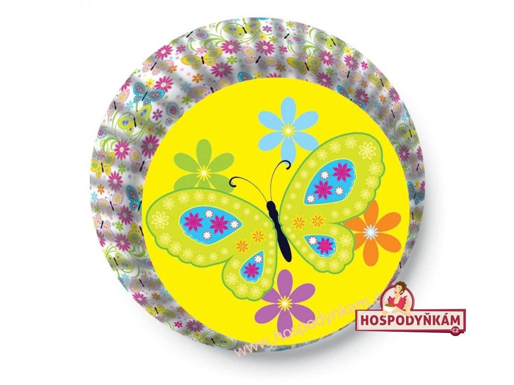Cukrářské košíčky Motýl