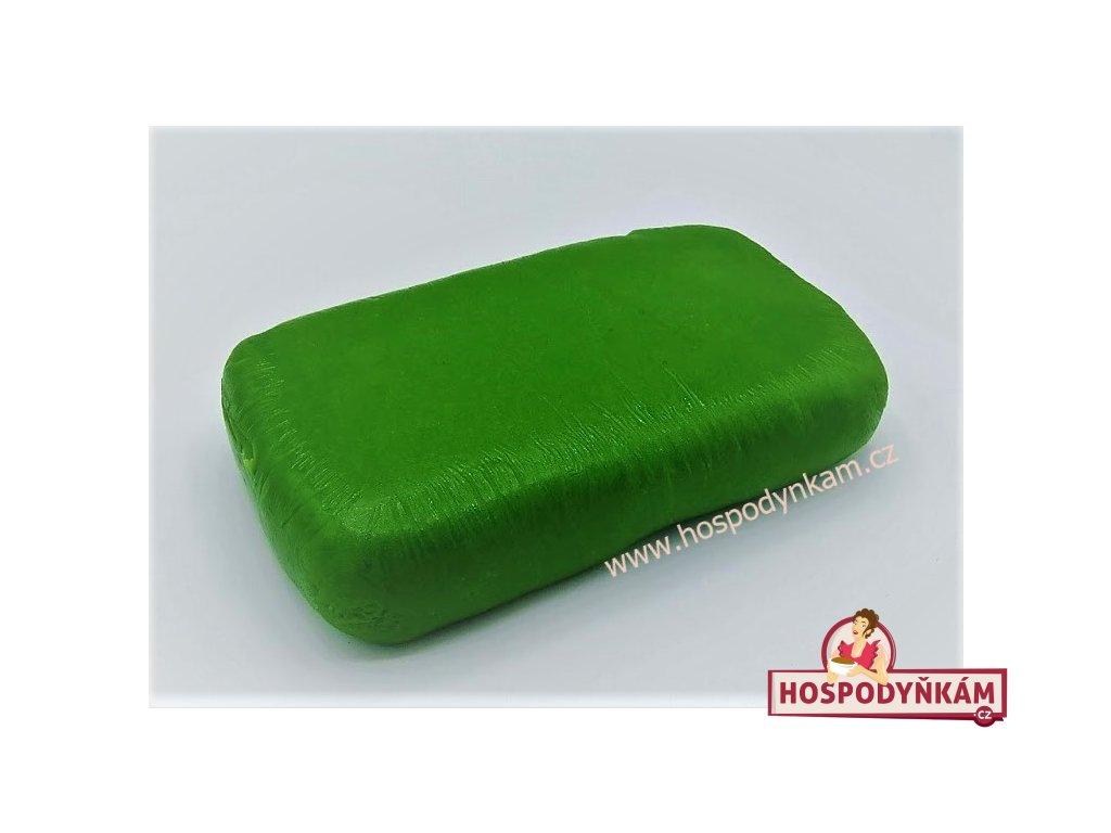 Pravý marcipán zelený 1kg