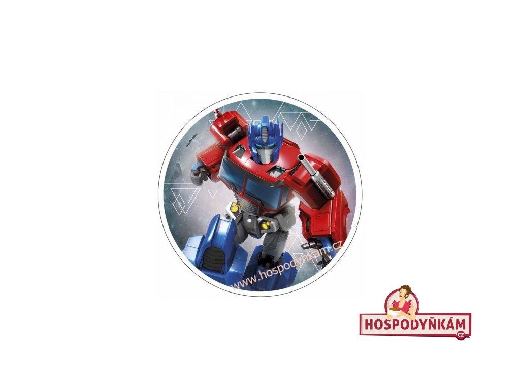 Jedlý papír Transformers 1