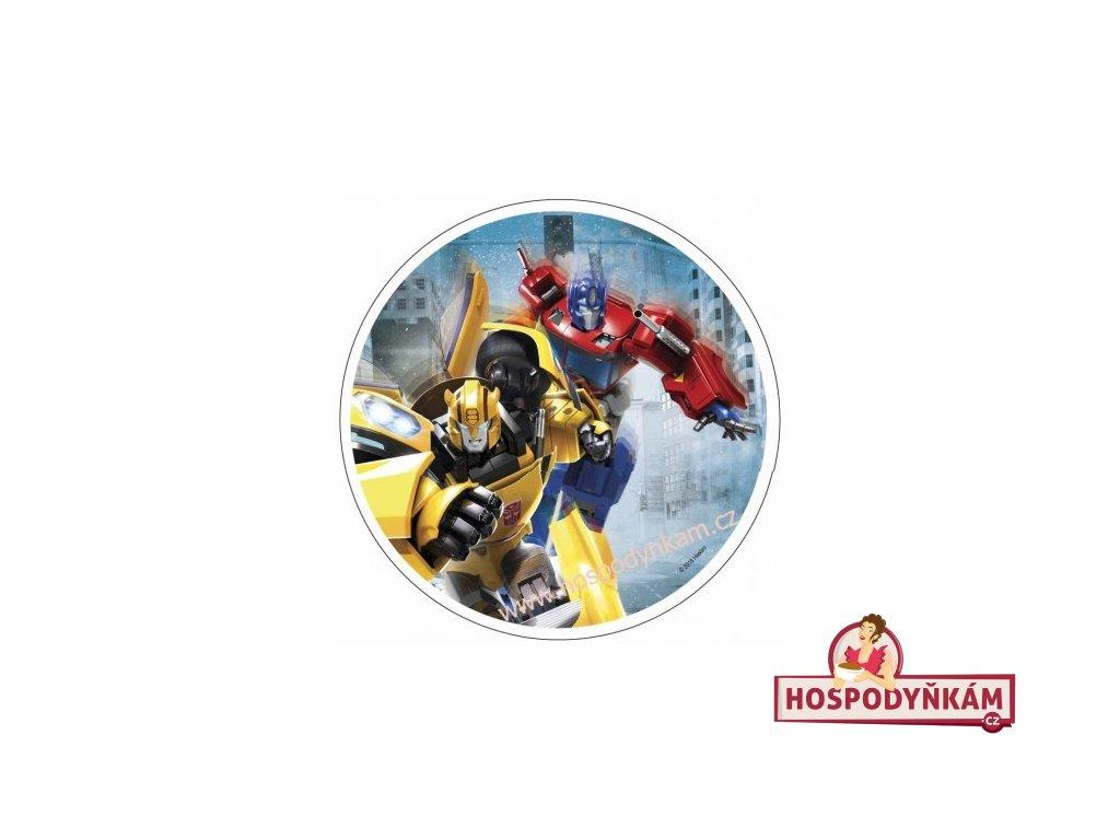 Jedlý papír Transformers 4