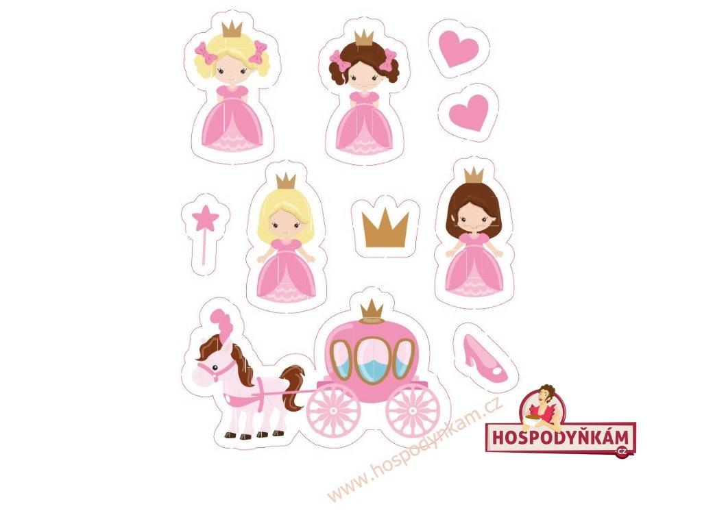 Jedlý papír Princezny