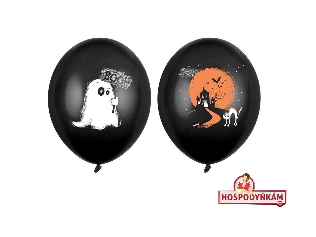 Balónky strašidelný dům